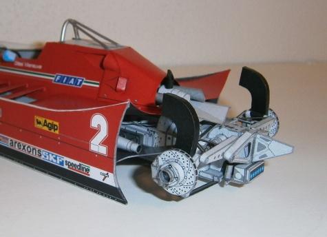 Ferrari 126 C - G. Villeneuve, GP Italy - practice 1980
