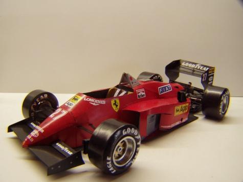 Ferrari 156/85, 1985, M. Alboreto