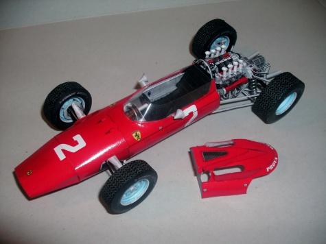 Ferrari 158 J. Surtees GP Monza 1964