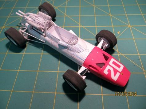 Ferrari 312, 1967, GP Monaco