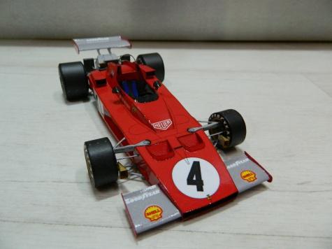 FERRARI 312 B3  A.Merzario Monako GP 1973