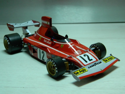 FERRARI 312B3 N.Lauda Zandvoort 1974