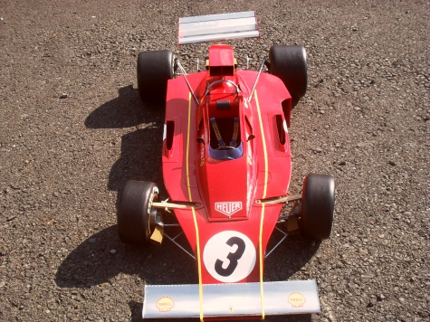 FERRARI 312 B3 version C /Itálie 1973