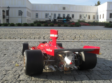 FERRARI 312 B3 version D / Argentina 1974