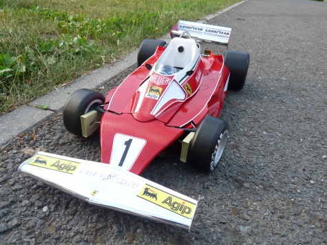 Ferrari 312 T2 Grand Prix Německa 1976