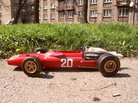 FERRARI 312 tipo 607   Monako 1967