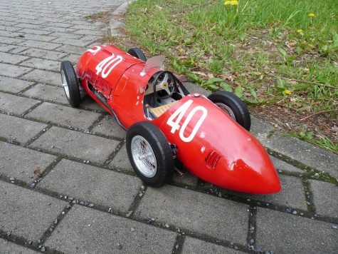 Ferrari  340 F1 GP Švícarska 1950