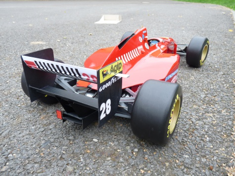 Ferrari 412 T1 B, GP Německo 1994