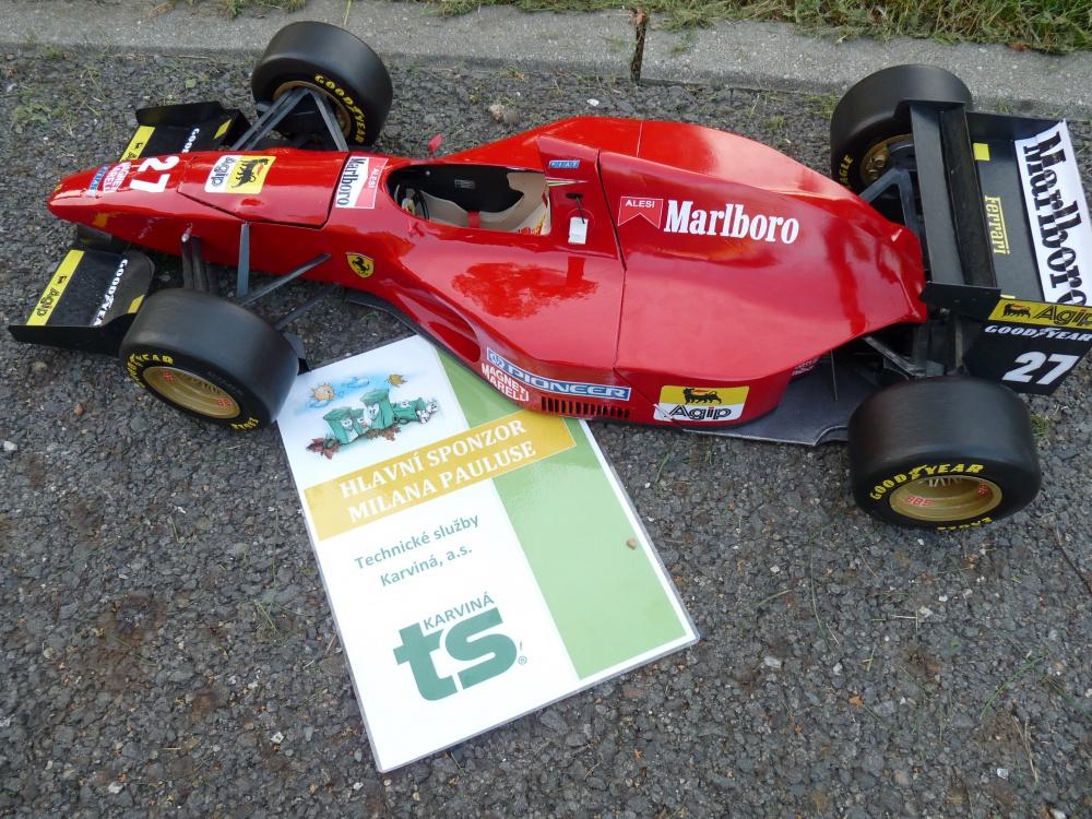 FERRARI  412 T1, GP Monako 1994