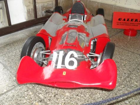 FERRARI D 50 Streamlinner vers. B - Francie 1956- Průhledný model!!!