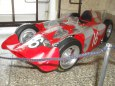 FERRARI D 50 Streamlinner vers. B - Francie 1956- Prùhledný model!!!