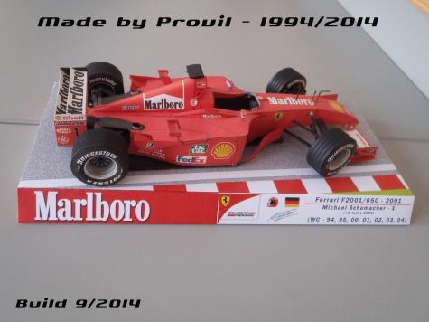 Ferrari F2001/050 - (1) Michael Schumacher