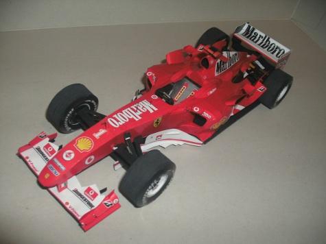 Ferrari F2004 - M. Schumi