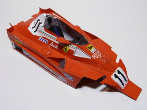 Ferrari F312 T2 VC Itálie ´77