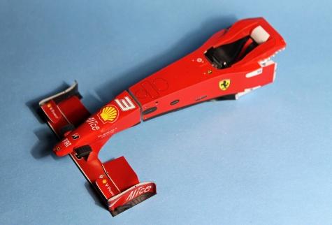 Ferrari F60 - Australian GP 2009 (Felipe Massa)