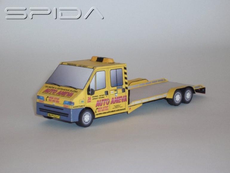 Fiat Ducato - odtahovka