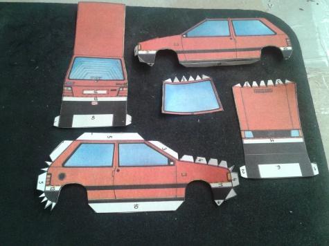 Fiat Uno + Karavan