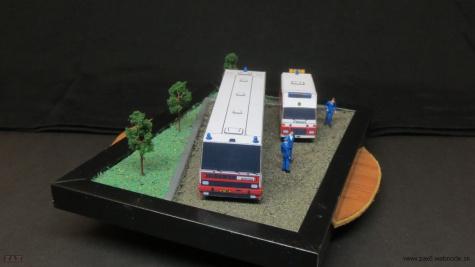 Firebox diorama