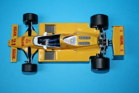 Fittipaldi F7 Ford - Argentine GP1980- K.Rosberg