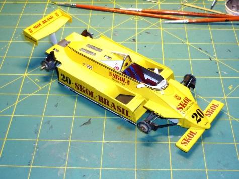 Fittipaldi F8 - Emerson Fittipaldi - GP V.Británie 1980