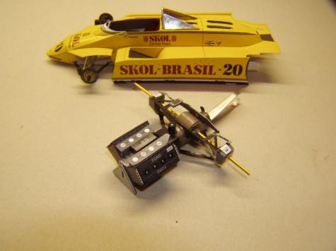 Fittipaldi F8, 1980, E. Fittipaldi