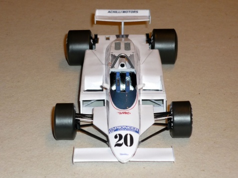 Fittipaldi F8C - Keke Rosberg - GP Belgie 1981