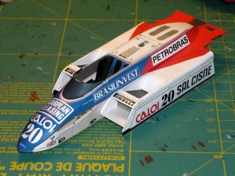 Fittipaldi F8D - Chico Serra - GP Belgie 1982