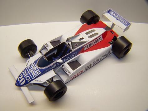 Fittipaldi F8D, 1982, Ch. Serra, GP Belgie