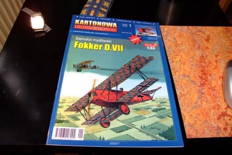 Fokker D.VII + motor