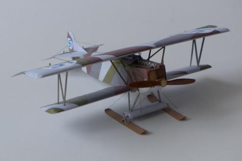 Fokker D.VII - zimní verze