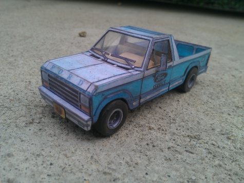 Ford Bronco 4x4 pick up
