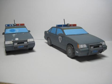 Ford Taurus OCP Detroit Police 1987