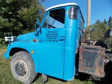 FOTO Tatra 148 AD 20 + T 148 nosič kontejnerů