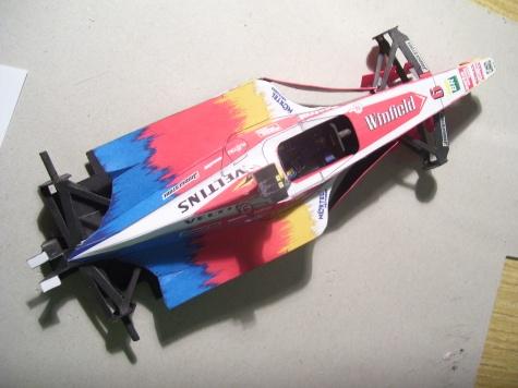 (24 hodin) FW 21 Williams, Ralf Schumacher, 1:24