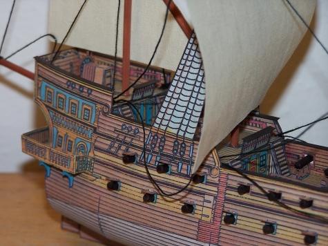 Galeona ze 16.století