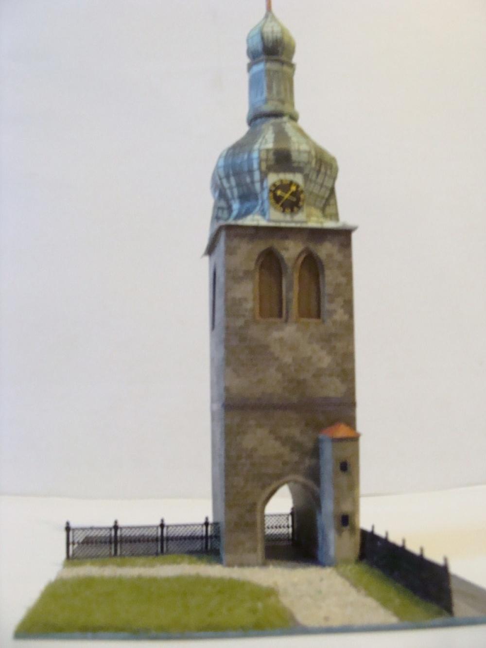 gotická zvonice Na Poříči