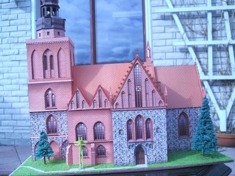 Gotický kostel v Gryfině