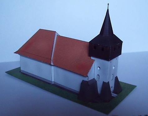 Gotický kostol nad Malými Teriakovcami, Slovensko