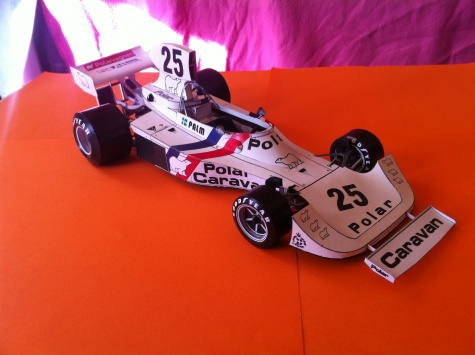 Hesketh 308 B ,1975 , Monaco GP , Torsten Palm
