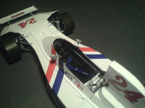 Hesketh 308B - Holland GP 1975