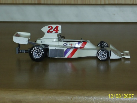 Hesketh 308B J.Hunt  GP Holandska-Zandvoort 1975