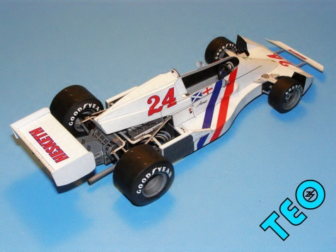 Hesketh Ford 308C, 1975