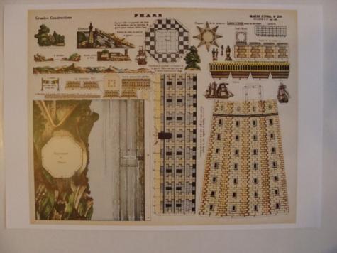 historické modely majáků