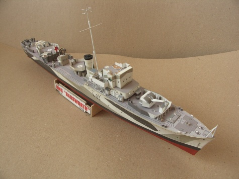 HMS Badsworth(HUNT II) / GPM / 1:200