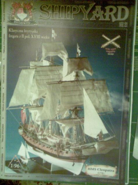 HMS-Cleopatra 1778
