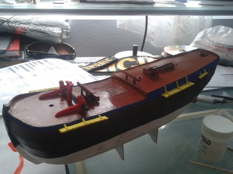 HMS Endeavour 1768 /Shipyard/ 1:96