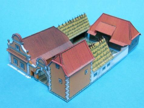 Hospodárska usadlosť z Čiech