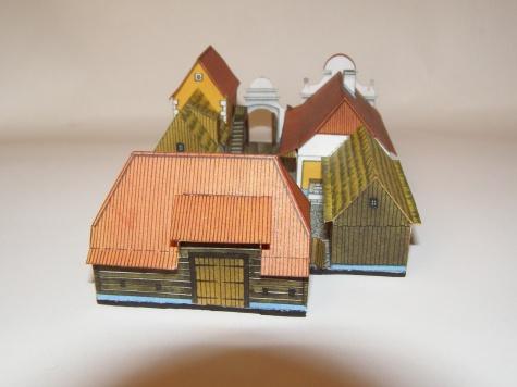 Hospodářská usedlost z Čech