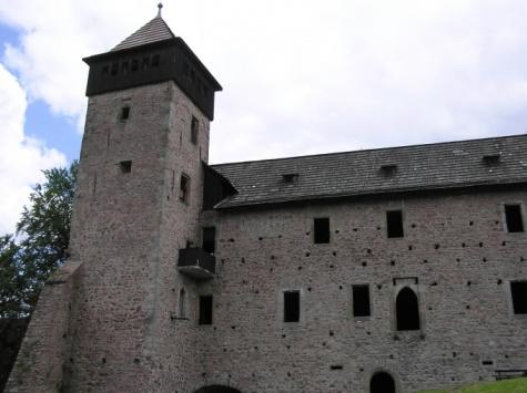 Hrad Litice - foto skutečné stavby