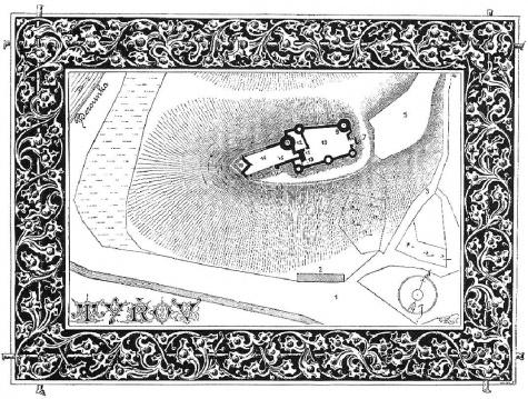 Hrad Týřov - obrázky ze Sedláčka